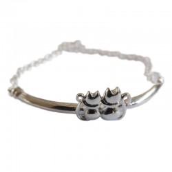 Bracelet Duo de Chats