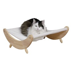 Lit en bois pour chat naturel Dream