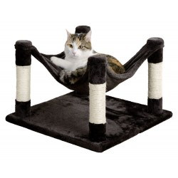 Hamac pour chat Combiné griffoir Samira