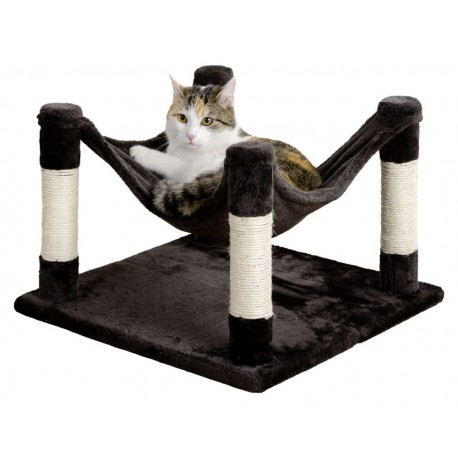 Lit pour chat design Hamac combiné griffoir Samira