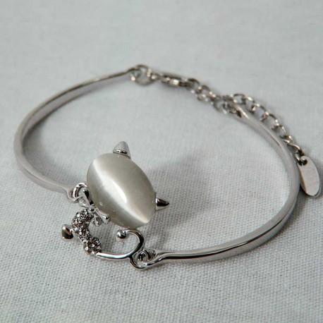 Bijou Chat Bracelet Opale