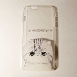 Coque Galaxy S7,S7 Edge, Iphone 6, 6 Plus Meow Tigré
