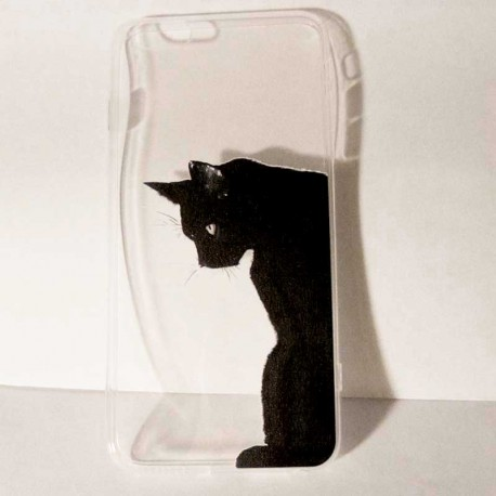 coque iphone 4 chat boxe