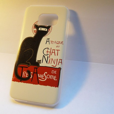 Coque GalaxyS7 Chat Ninja