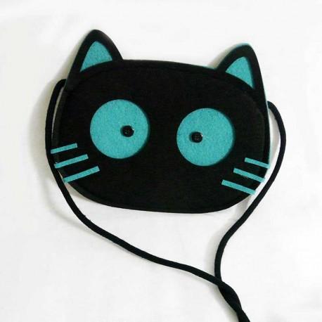 Pochette Sac Fantaisie Tête de Chat