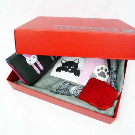 NekoBox Fan de chat, Coffret cadeau femme