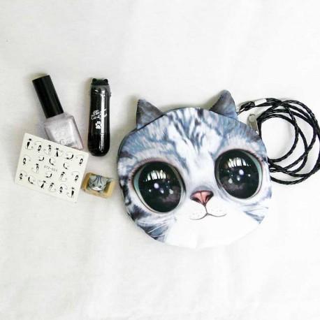 NekoBox Gribouille et Neige, Trousse Nail art chat et maquillage