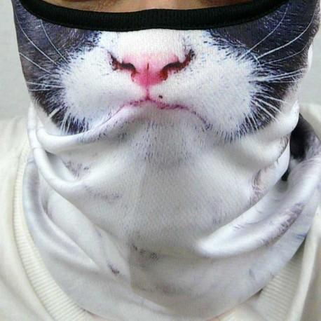 Masque Chat Renfrogné