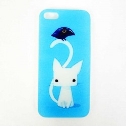Coque Chat et Corbeau Iphone 5, 5S