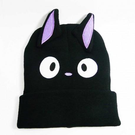 Bonnet pour Femme Chat Noir de Dessin Animé
