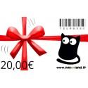 Carte Cadeau Nekoland 20€