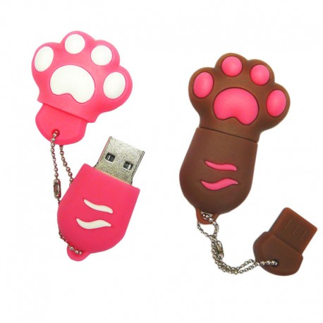 Clé USB Forme Originale Patte de Chat