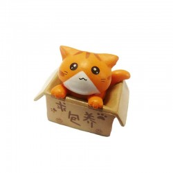 Figurine Chat Kawaii Cool