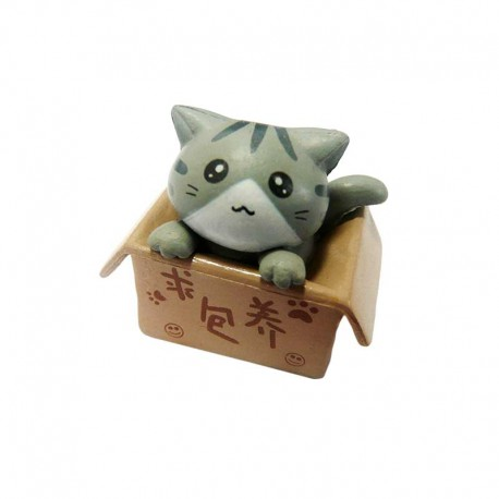 Figurine Chat Kawaii Manga