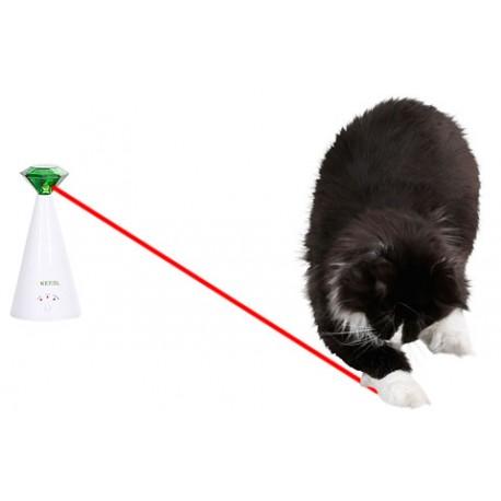 jouet interactif pour chat le laser chat rotatif. Black Bedroom Furniture Sets. Home Design Ideas