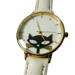 Montre Chat Elégance