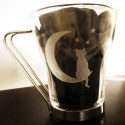 Mug Chat et Lune Artisanal