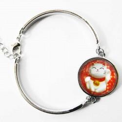 Bracelet Chat Porte-bonheur