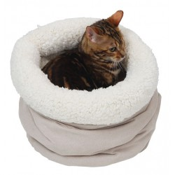 Couchage pour chat Design à froissements