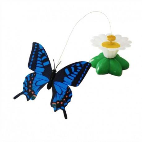 Jouet pour chat original avec un Papillon