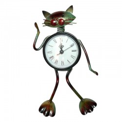 Horloge Amusante Chat Assis