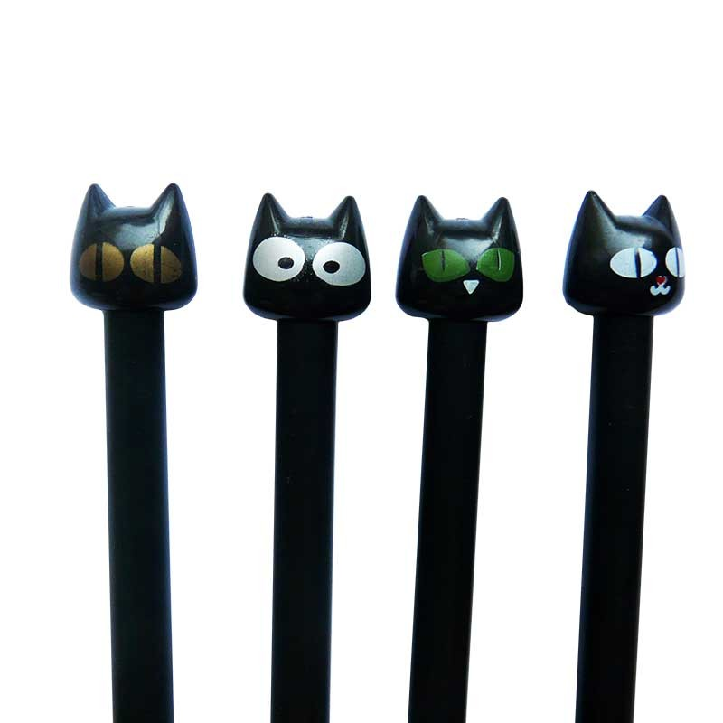 Stylos Chats noirs Fourniture kawaii