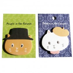 Post it Kawaii Chat avec un Chapeau