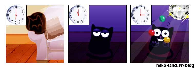 Histoire drole Chat Nekoland Journée de chat 2