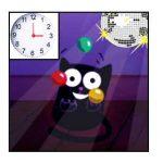 Chat Nekoland qui jongle