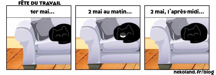 1er mai de chat
