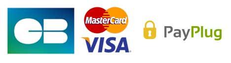 Cartes de paiement acceptées
