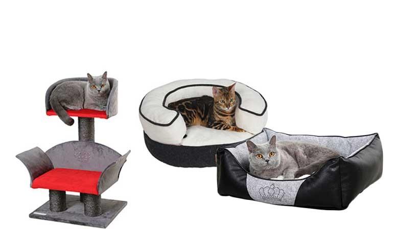 Couchage de luxe et Canapé pour chat