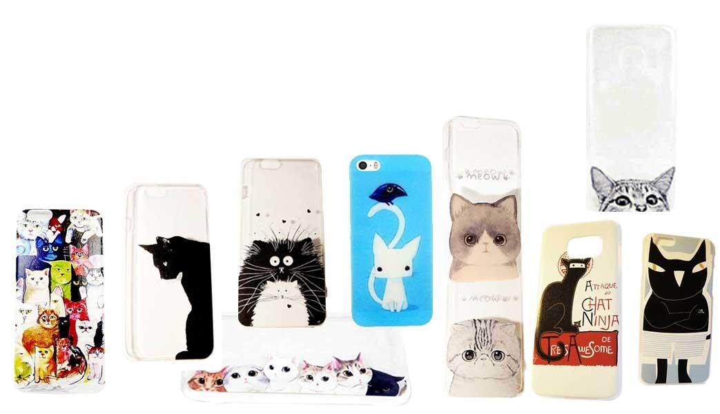 Tous les accessoires pour Téléphone sur le thème des Chats